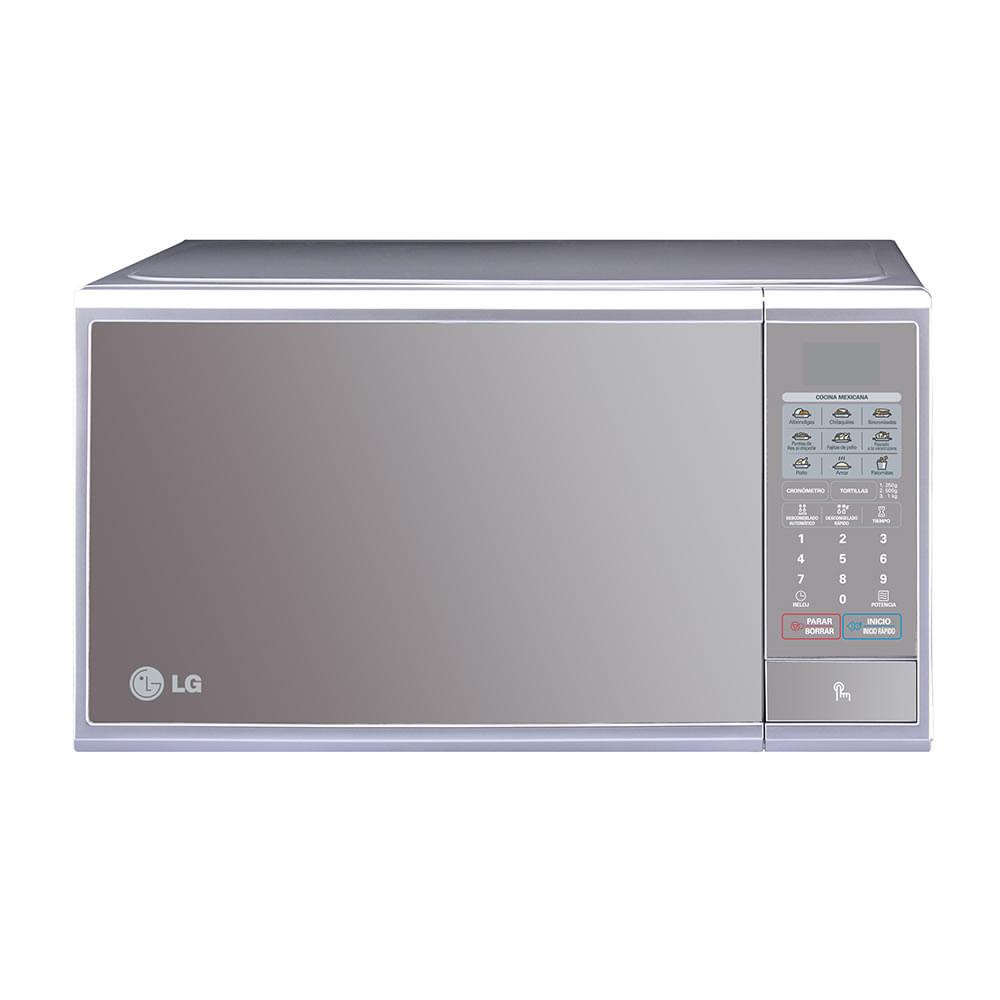 Lg horno microondas ms1140s 30 l plateado wong per wong - Horno microondas pequeno ...