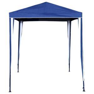 Alpes-Gazebo-Polyester-2x3m-160G-Azul-Blanco-419836