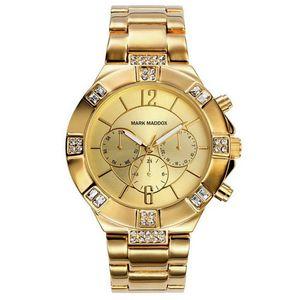 Mark Maddox Reloj Analogico Mujer MM6003-25 Dorado