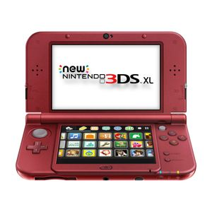 Nintendo Consola 3DS XL New Rojo