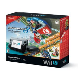 Nintendo Consola Wii U Mario Kart 8 New Negro