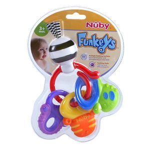 Nuby-Mordedor-Teething-Keys-559175
