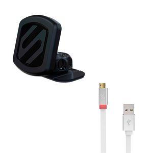 Scosche-Pack-Magicmount-Dash-Cargador-de-Apple-570231
