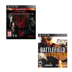 Pack-PS3-Mgs-V-Phantom-Pain---Battlefield-Hardline