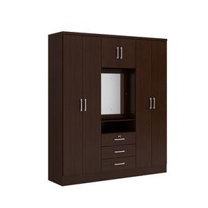 Ropero-Venecia-4-puertas-3-cajones-espejo-700415