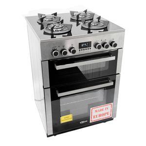 Klimatic-Cocina-de-Pie-a-Gas-4-Hornillas-Vitale-E-Plateado-544891