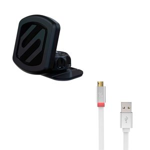 Scosche-Pack-Magicmount-Dash-Cargador-de-Apple-570231
