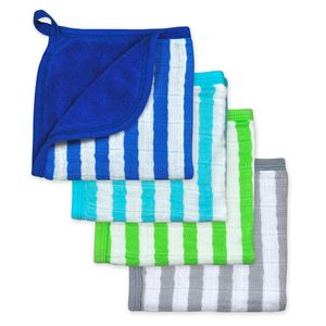 Green-Sprouts-Set-4-Paño-Baño-Azul-575109